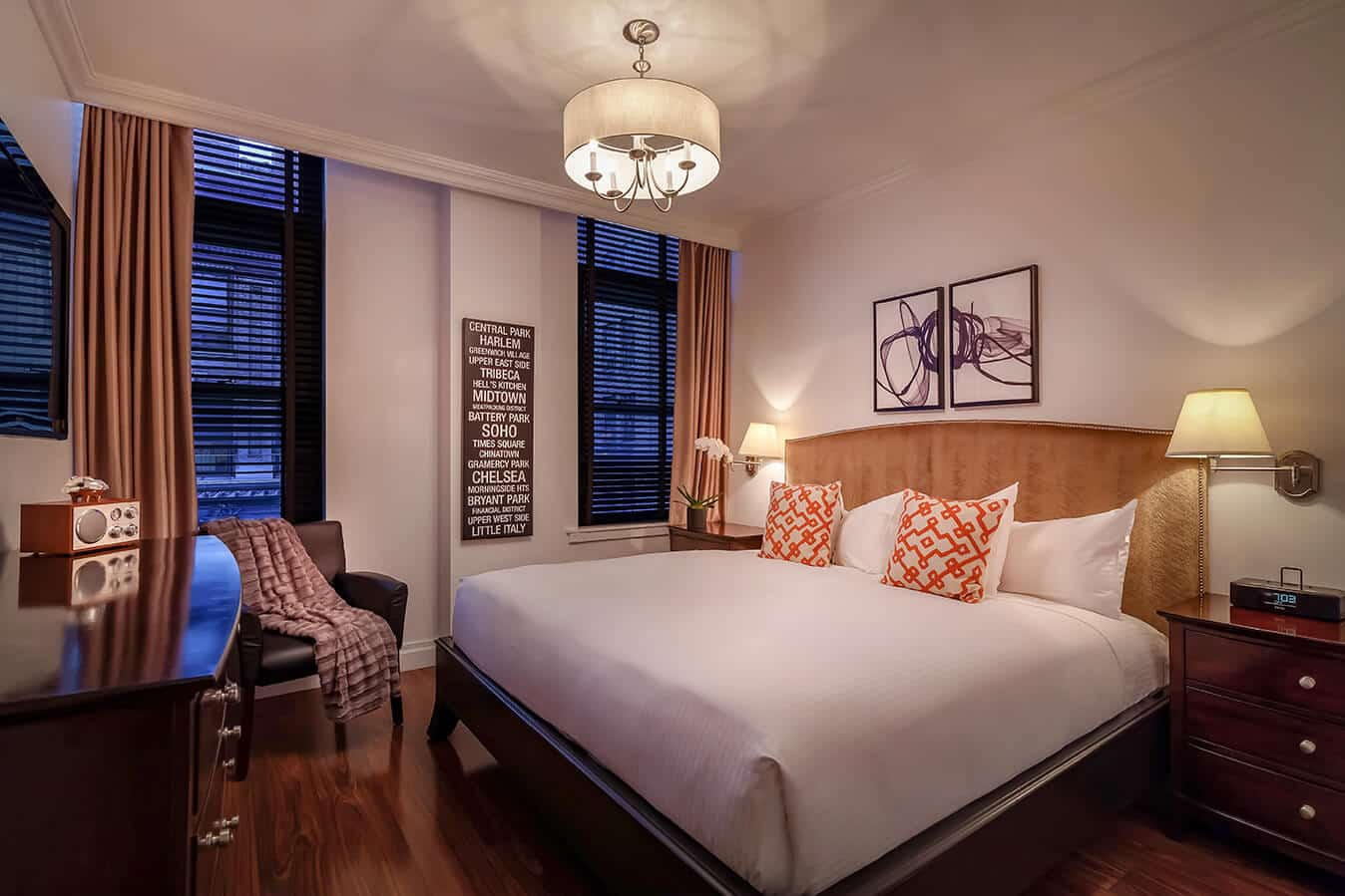 NYC Accommodations: Avalon Hotel Guestrooms