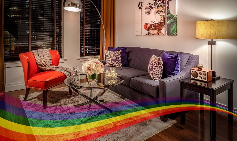 avalon hotel pride suite offer